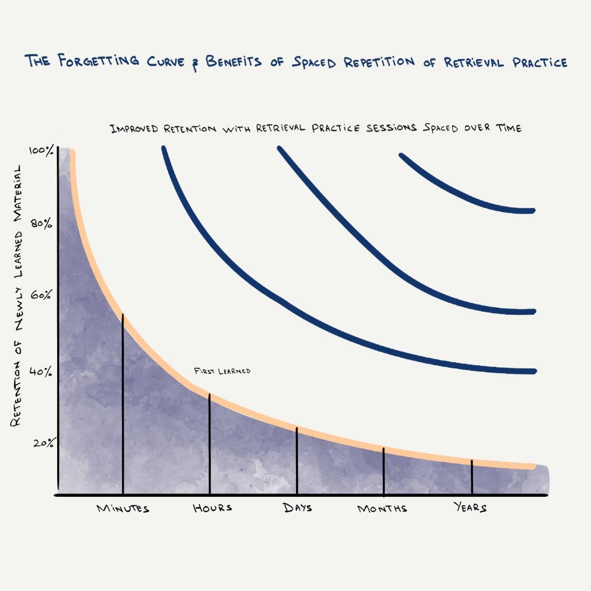 The forgetting curve and the effects of spaced retrieval practices.