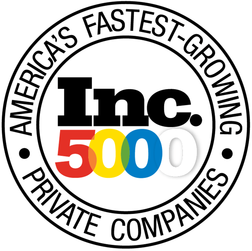 Inc 5000 fastest growing companies logo
