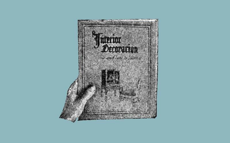 A vintage illustration of a book