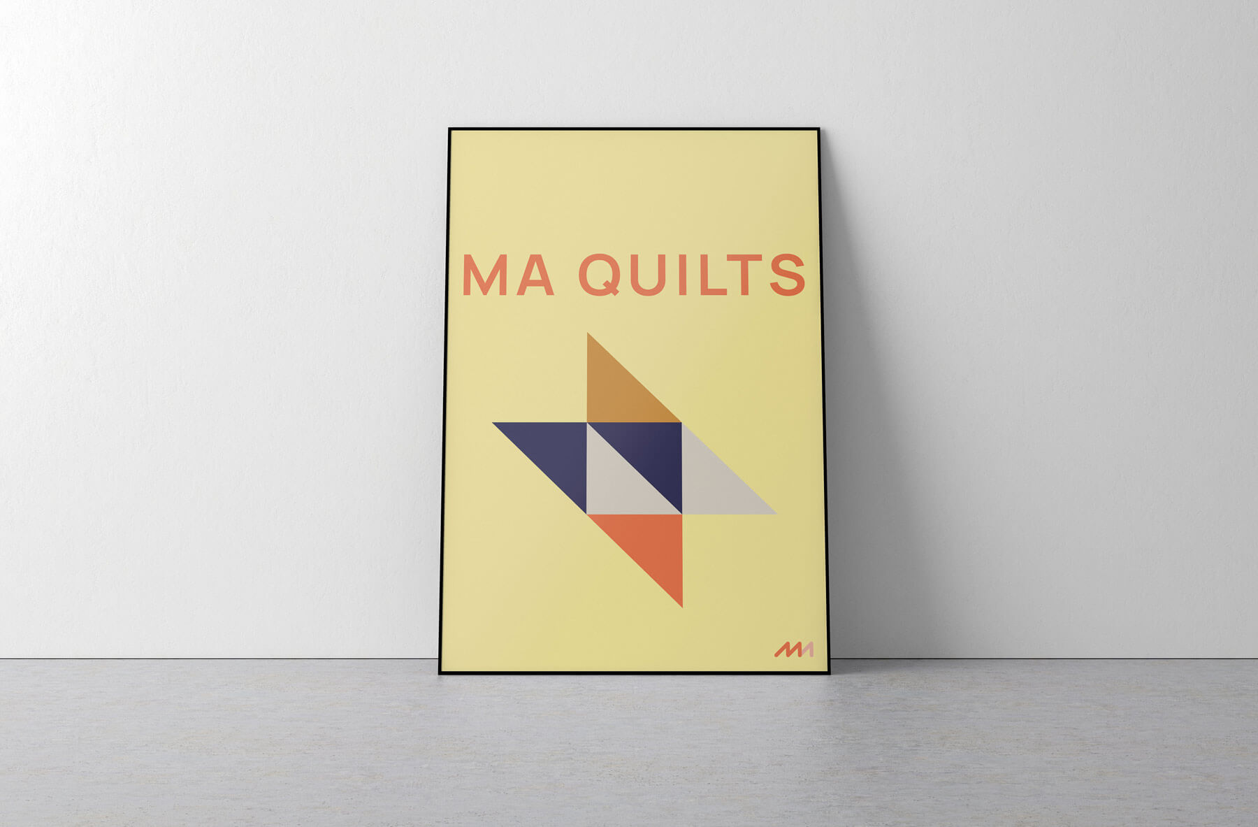 MA quilts poster