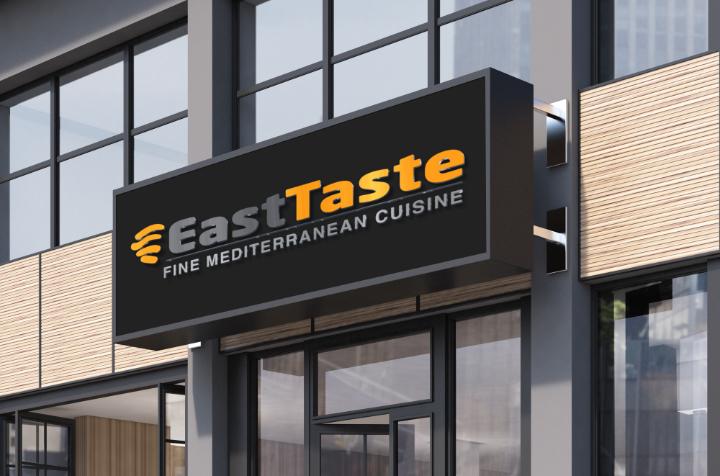 East Taste sign
