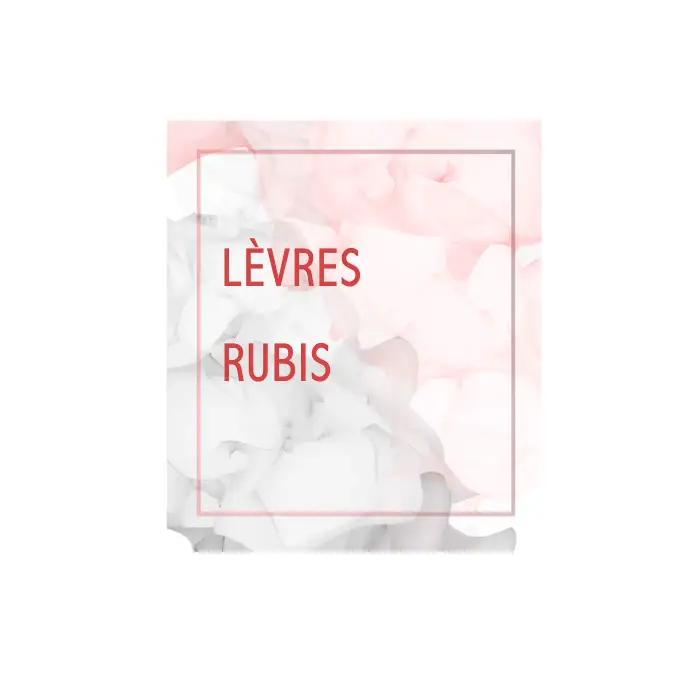 Lévres Rubis / 紅寶石之吻