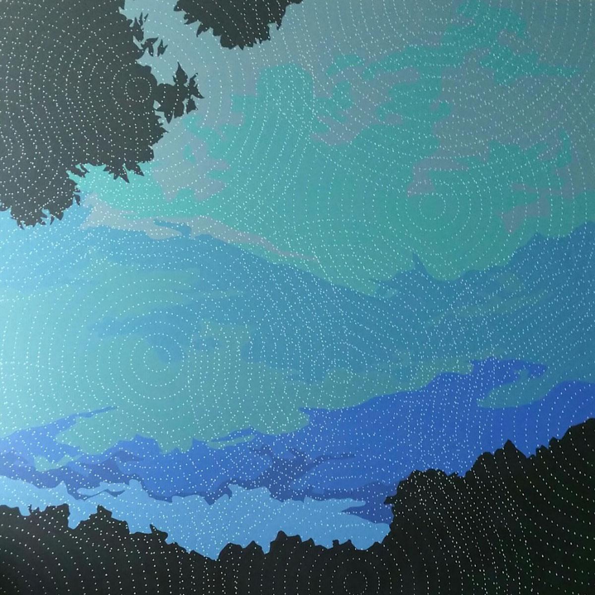 심상이미지︱130.3x130.3cm, Mixed media on canvas