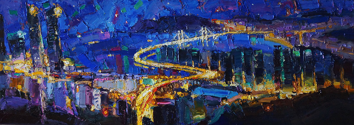 2020.5.busan︱135.0x45.0cm, Oil on canvas︱2020