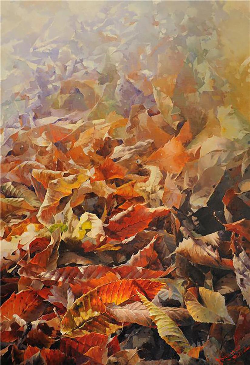 휴식의 공간︱162.0x112.0cm, Oil on canvas︱2012