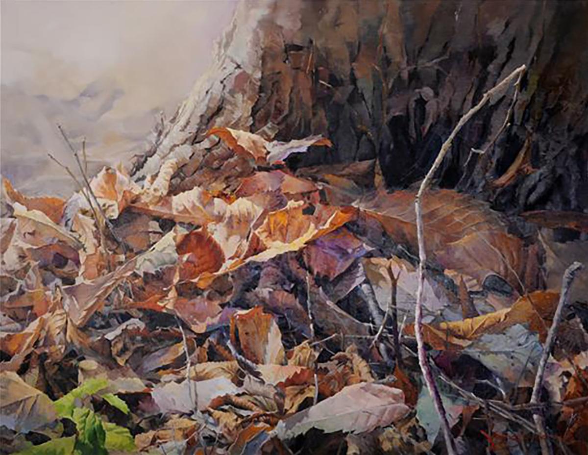 휴식의 공간︱162.0x130.0cm, Oil on canvas︱2012