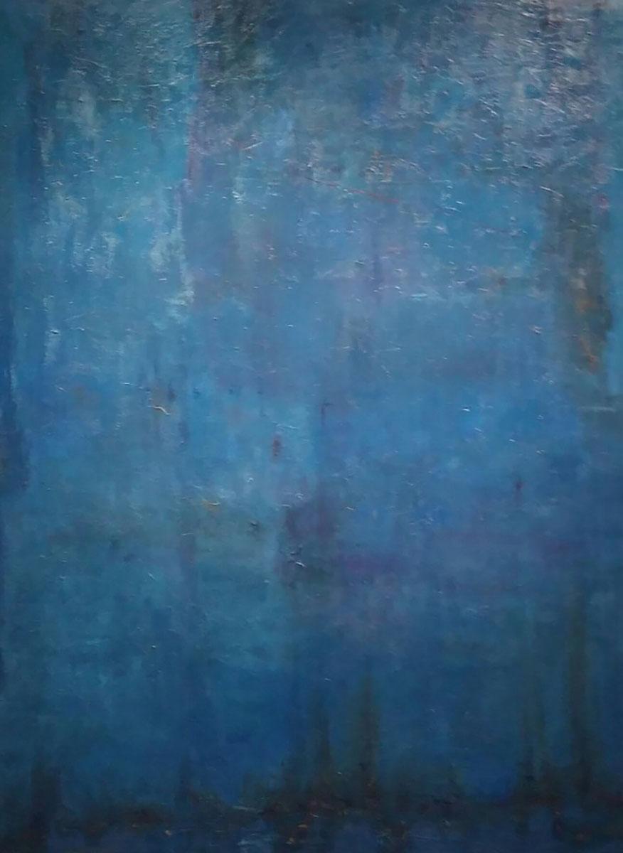 Lifespring ︱ 162.2x130.3cm, Mixed Media