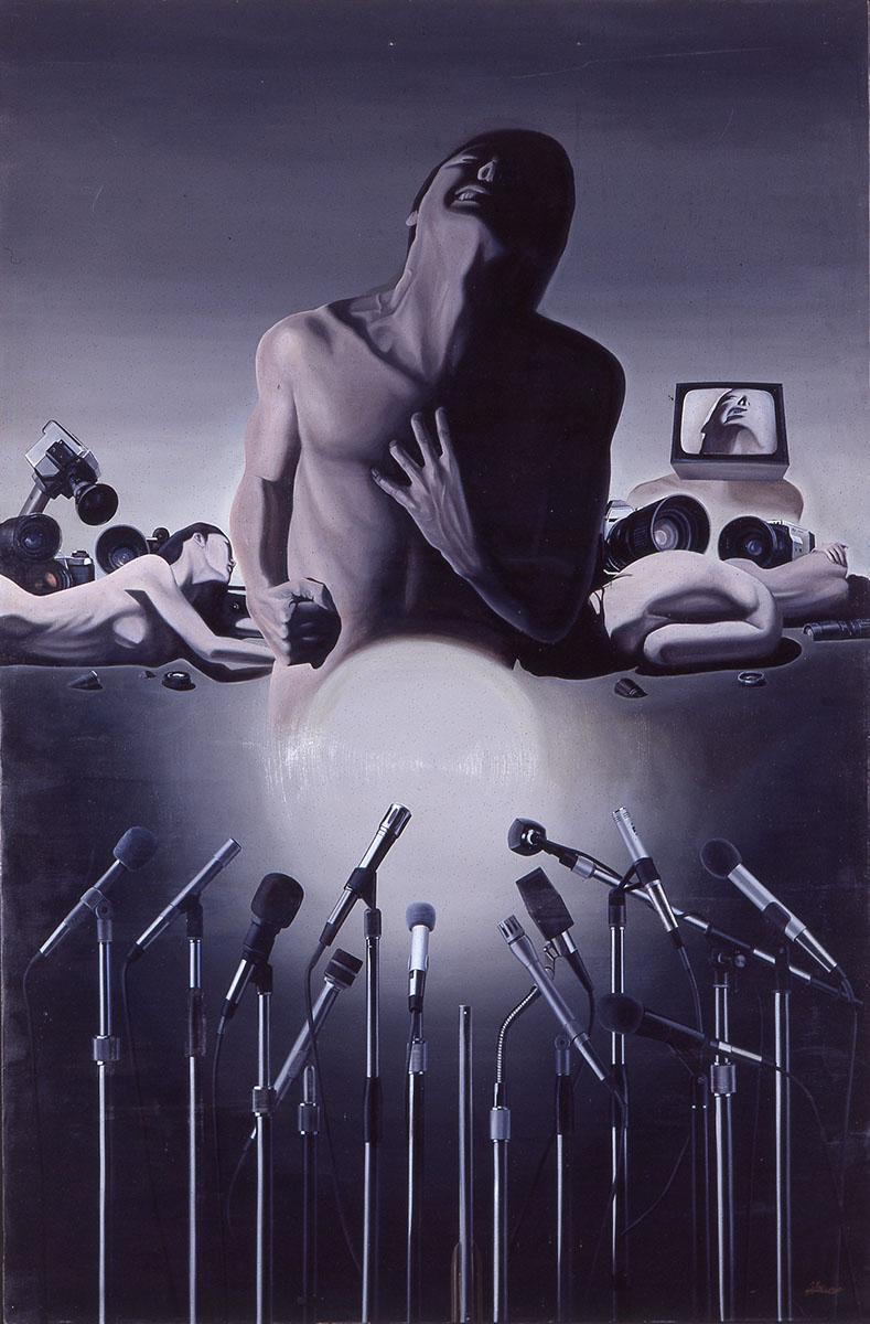 현대인의 초상(The portrait of modern people)︱194.0x130.3cm, Oil on canvas︱1985