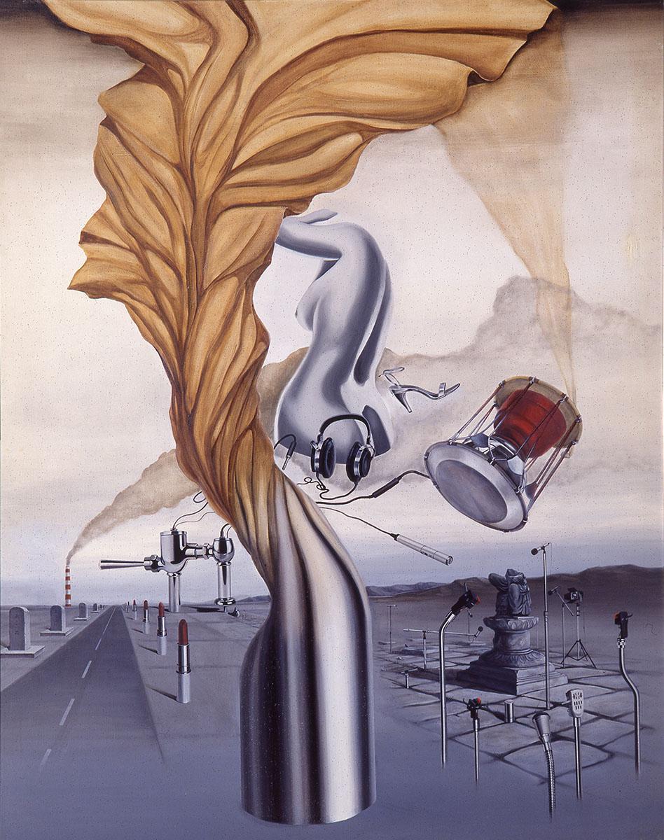 역사의 공존(The coexitence of history)︱145.5x112.0cm, Oil on canvas︱1984