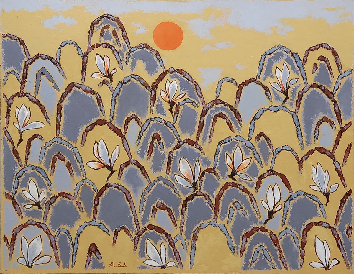 자연의 소리-산유화︱90.9x116.7cm, Oil on canvas︱2012