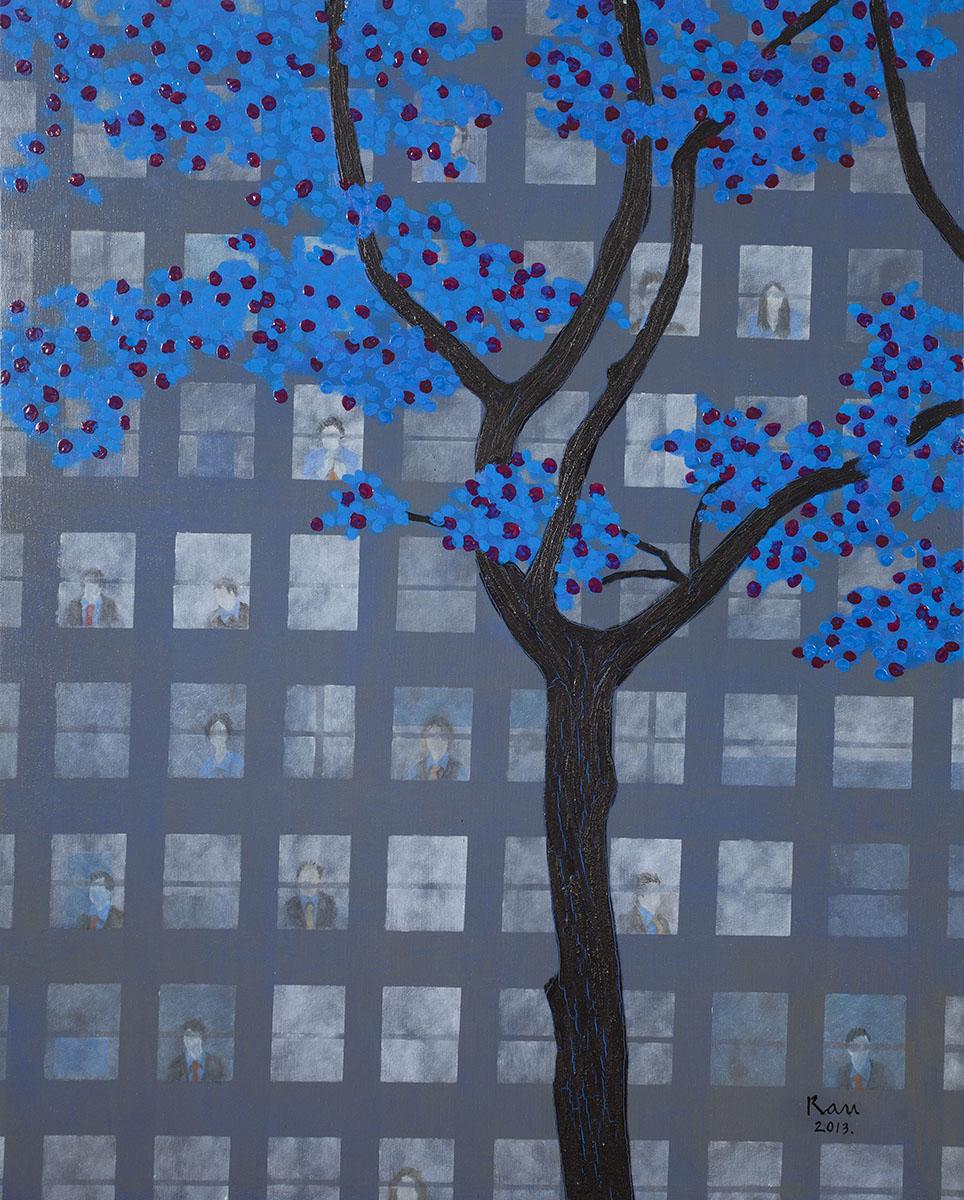 회색도시-빌딩︱90.9x72.2cm, Oil on canvas︱2013