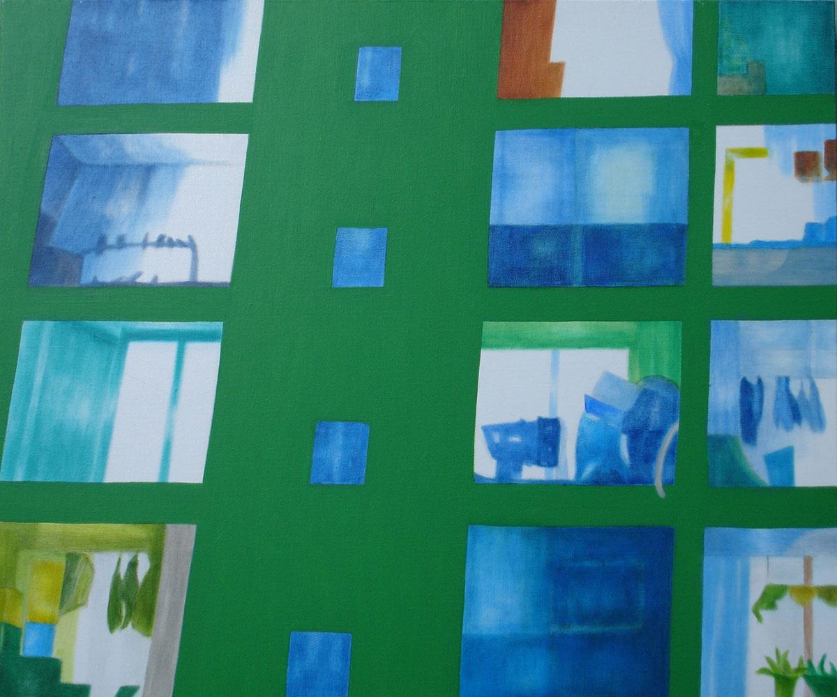 아파트-그안︱72.7x60.6cm, Oil on canvas︱2020