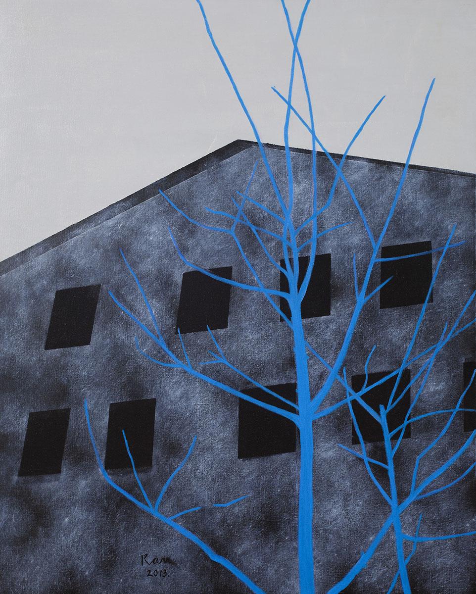 회색도시-창고︱90.9x72.7cm, Oil on canvas︱2013