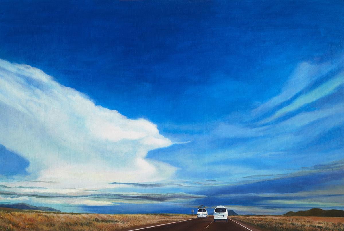 Road Trip 15︱80.3x116.8cm, Oil on canvas