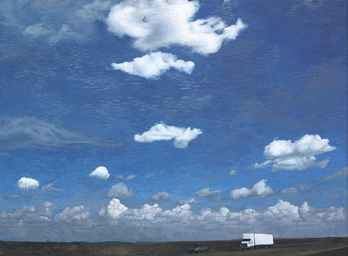 Road Trip-Tx︱71.1x96.5cm, Oil on canvas