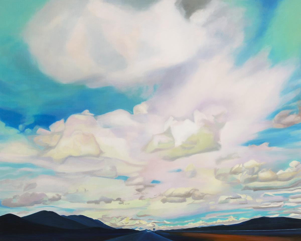 Road Trip 10︱130.3x162.2cm, Oil on canvas