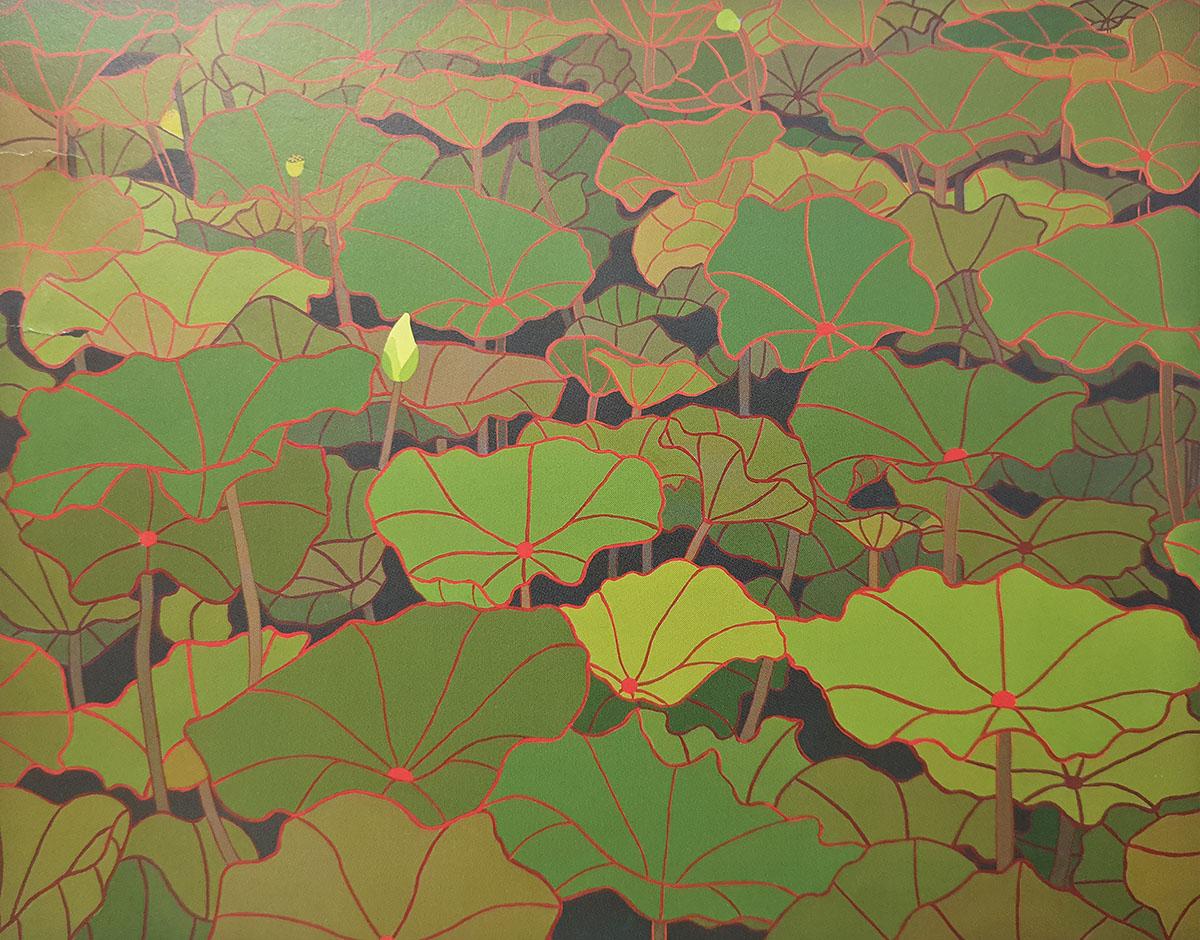 인고(忍苦)의 환상(幻想)︱116.7x91.0cm, Acrylic on canvas︱2013