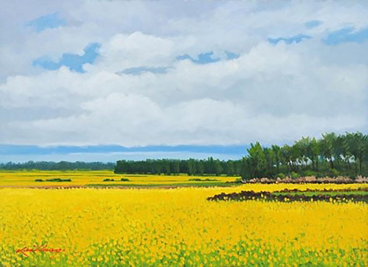 추억속의 자연-제주에서︱53.0x40.9cm, Oil on canvas