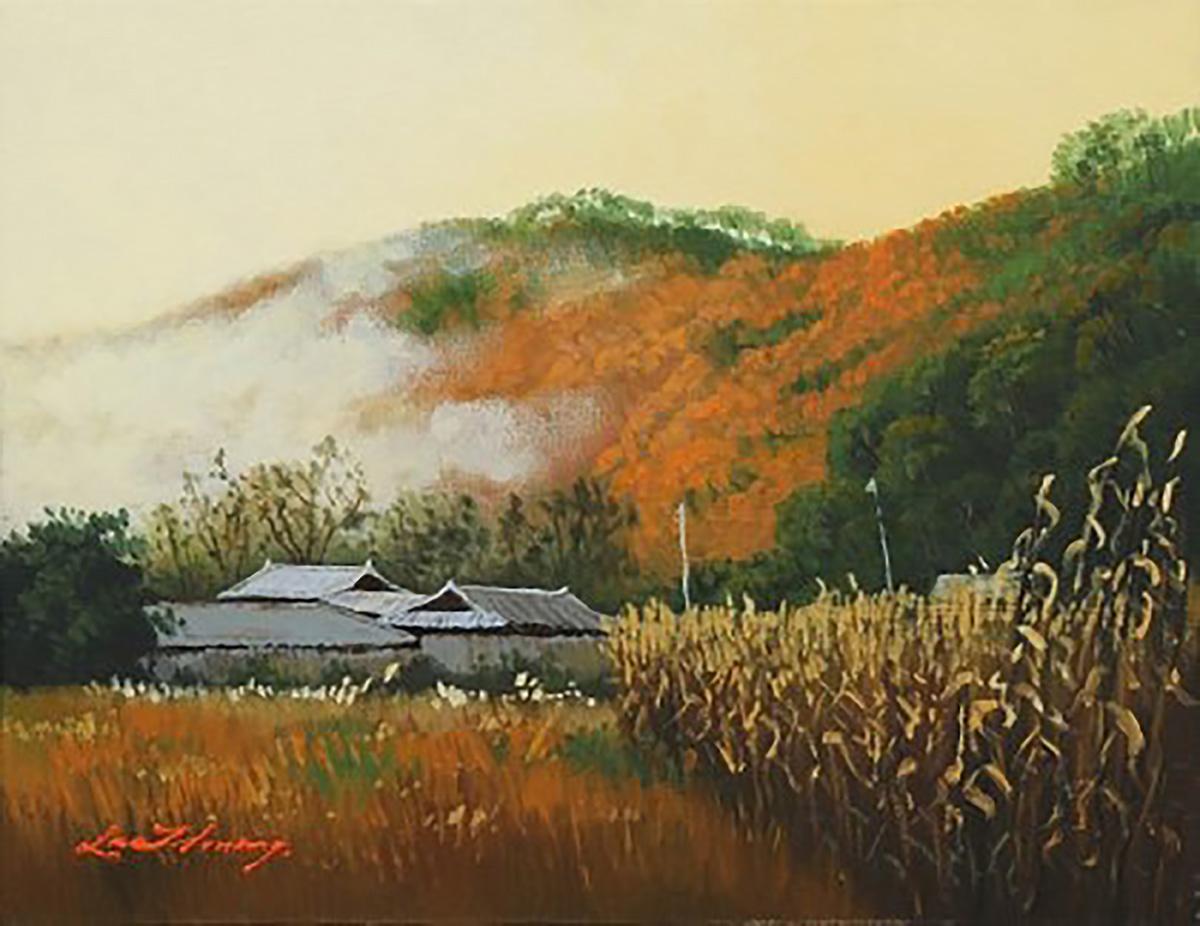 추억속의 자연-양수리에서︱53.0x40.9cm, Oil on canvas
