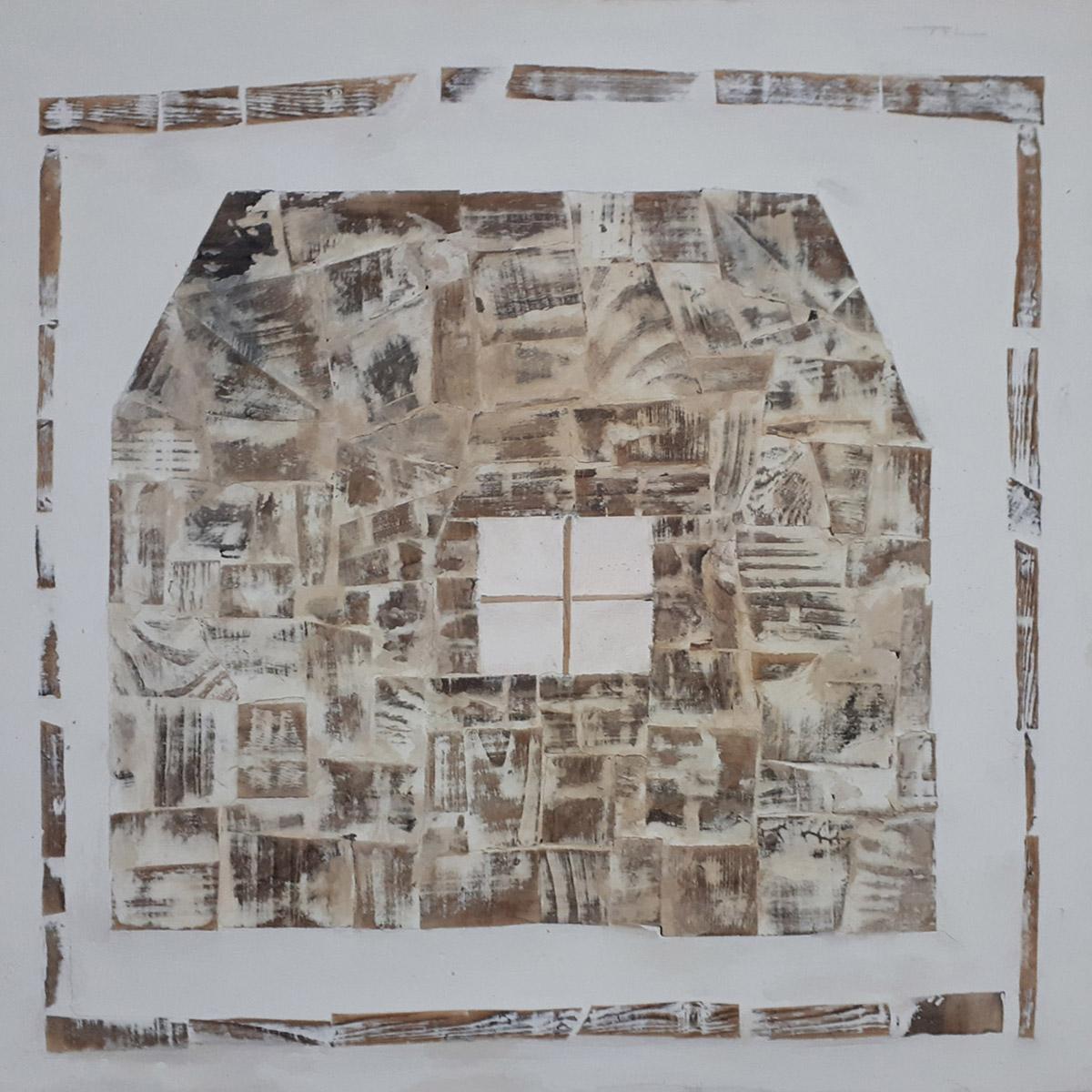 보금자리2︱60.0x600cm, Oil on canvas︱2019