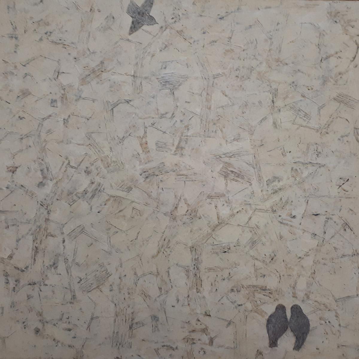 보금자리1︱90.0x90.0cm, Oil on canvas︱2019