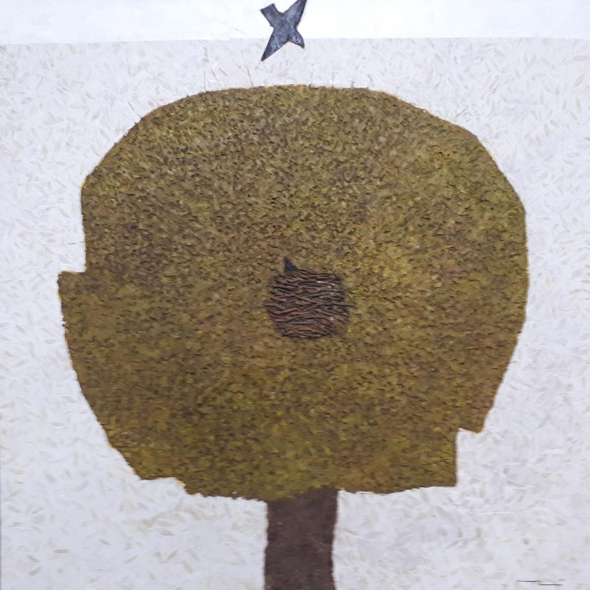 보금자리5︱72.5x72.5cm, Oil on canvas︱2019