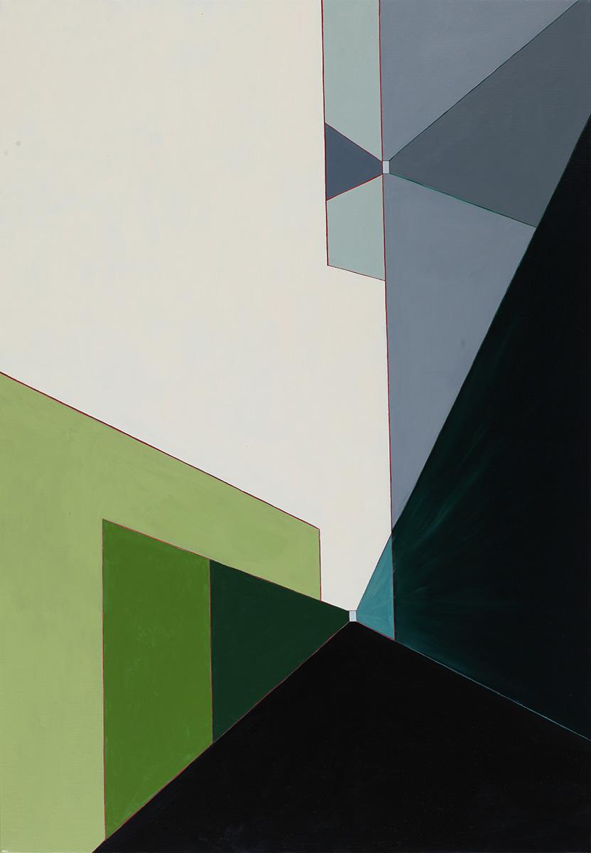 벽(壁)에_관하여Ⅲ︱162.2x112.1cm, Oil on canvas︱2020