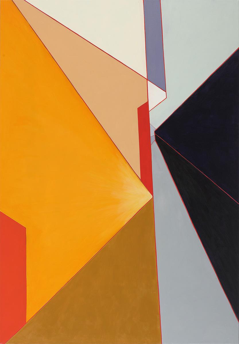 벽(壁)에_관하여Ⅳ︱162.2x112.1cm, Oil on canvas︱2020