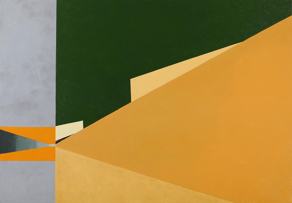 벽(壁)에_관하여Ⅵ︱162.2x112.1cm, Oil on canvas︱2020