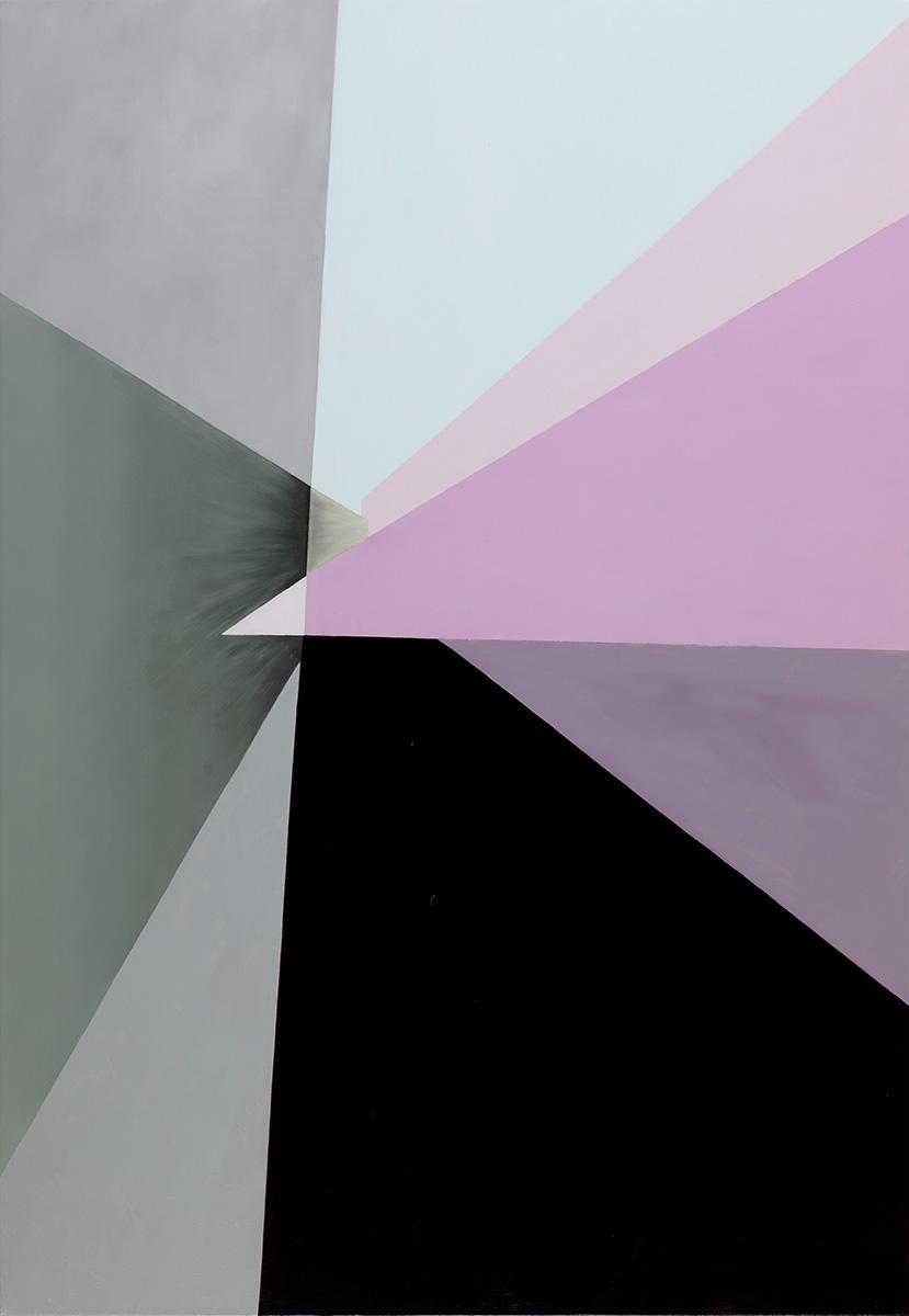 벽(壁)에_관하여Ⅴ︱116.8x80.3cm, Acrylic on canvas︱2018