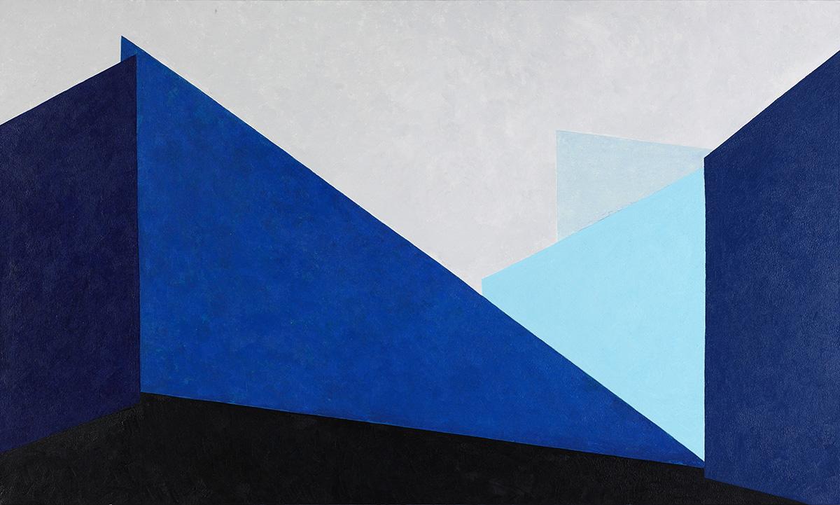 벽(壁)에_관하여Ⅶ︱116.8x80.3cm, Oil & Mixed on canvas︱2019
