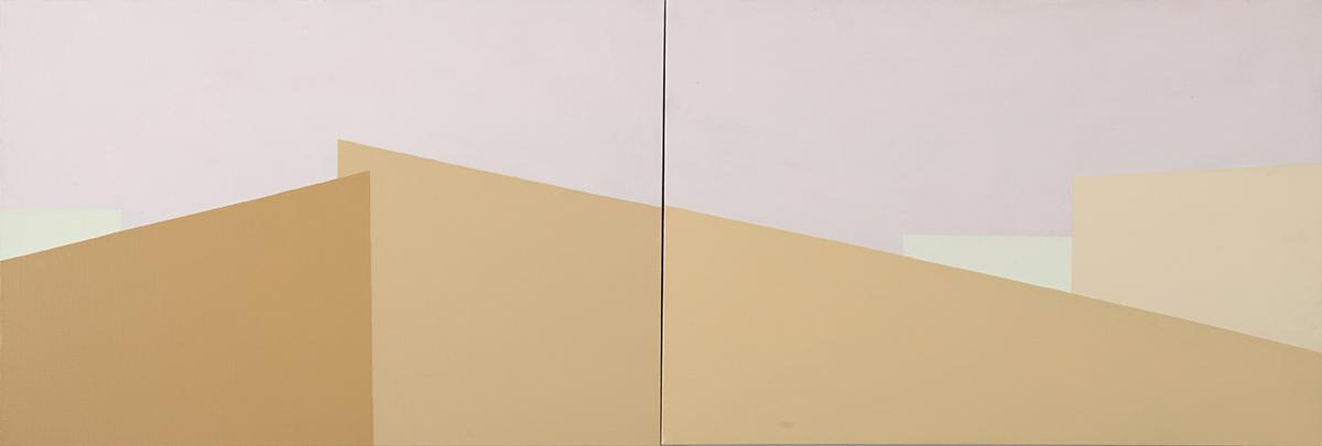벽(壁)에 관하여X︱90.9x60.6cm, Acrylic on canvas︱2019
