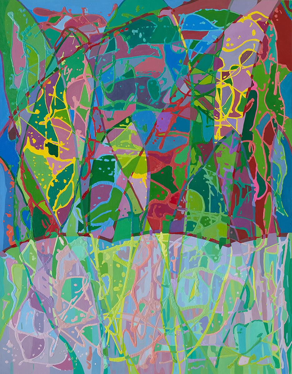비오는날의 합창VI︱91.0 x 116.8cm, Oil on canvas︱2019