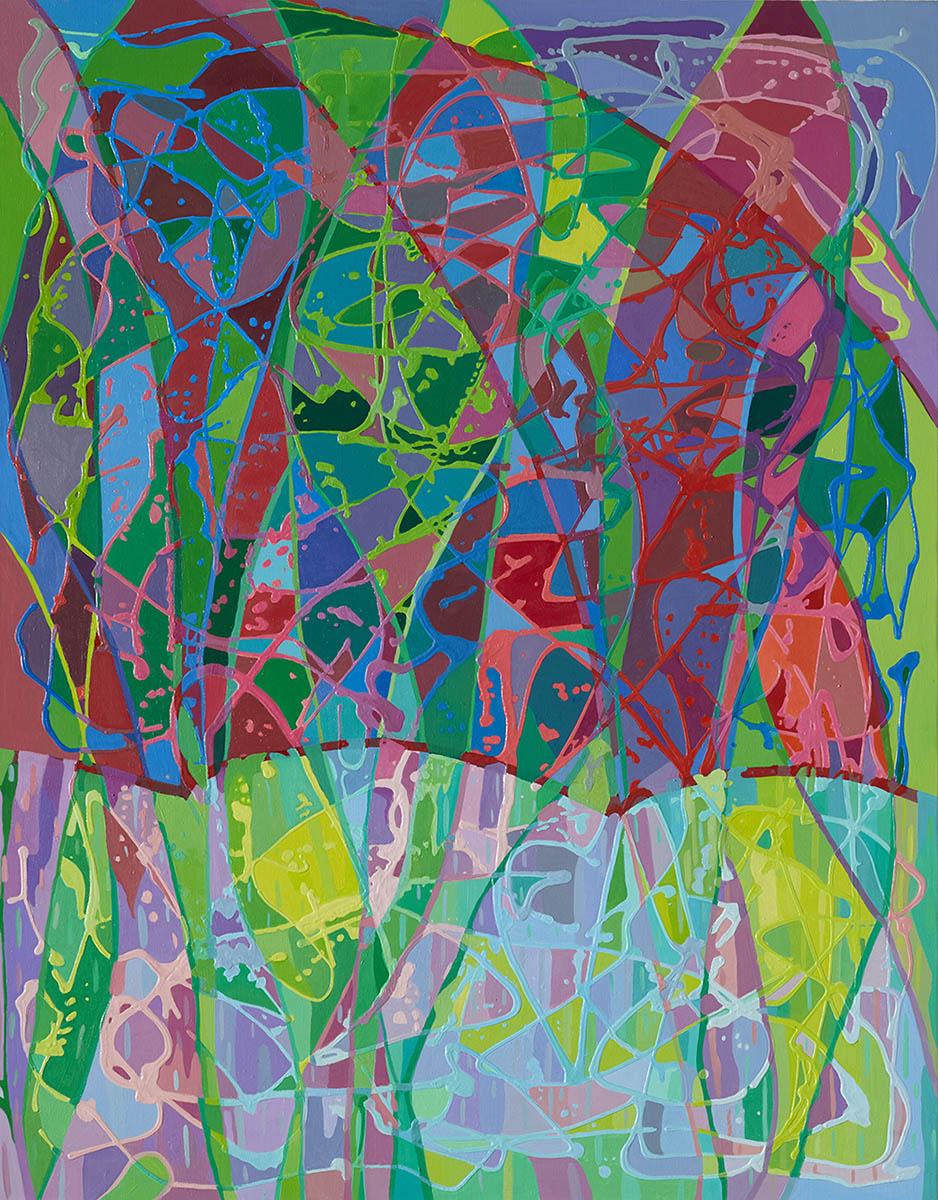 비오는날의 합창︱91.0 x 116.8cm, Oil on canvas︱2019