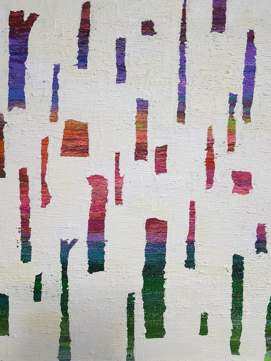 Dreaming Tree︱55.0x46.0cm, Acrylic&Oil on Canvas︱2018