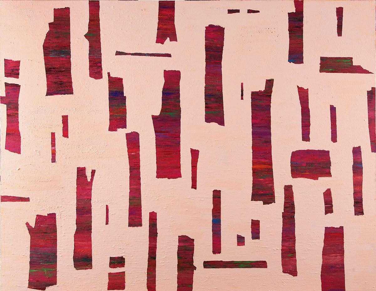 Dreaming Tree︱91.0x116.0cm, Acrylic&Oil on canvas︱2018
