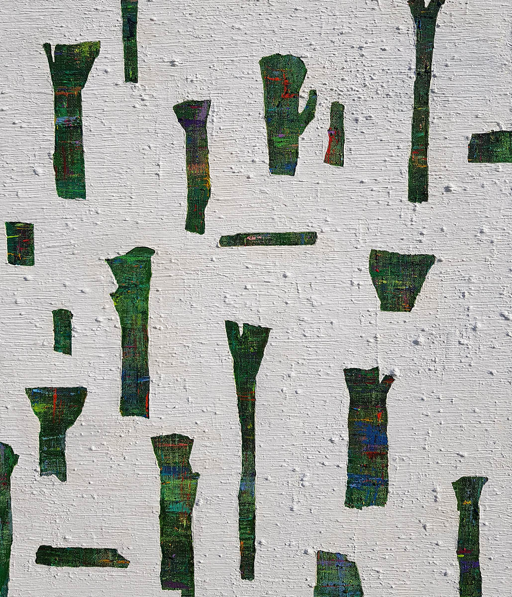 Dreaming Tree︱53.0x46.0cm, Acrylic on Canvas︱2018