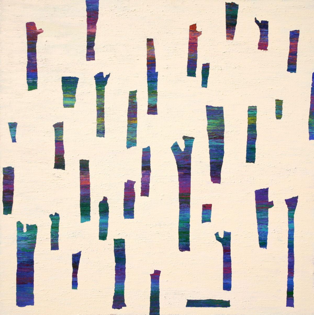 Dreaming Tree︱90.0x90.0cm, Acrylic on Canvas︱2018