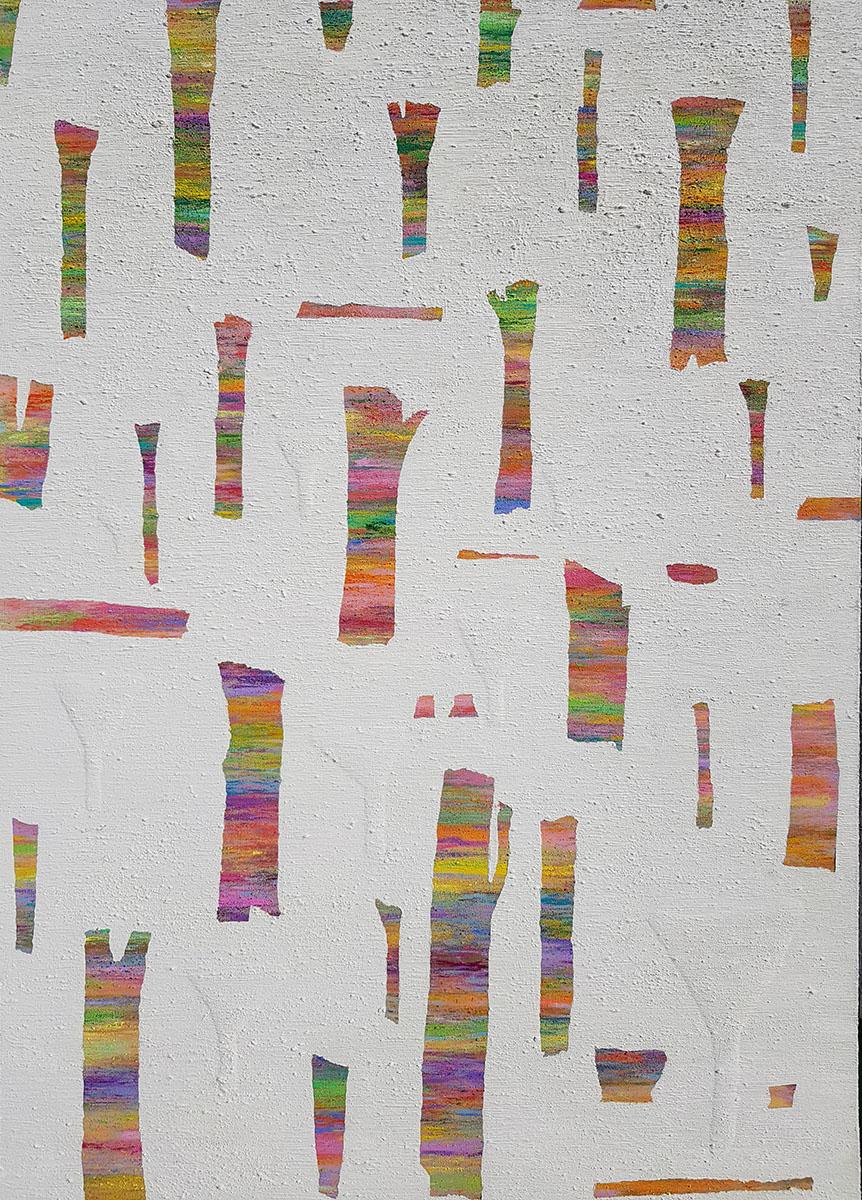 Dreaming Tree︱61.0x50.0cm, Acrylic on Canvas︱2018