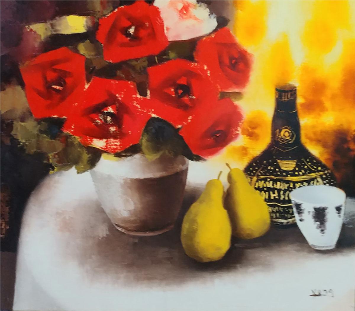 장미︱53.0x45.5cm, Oil on canvas
