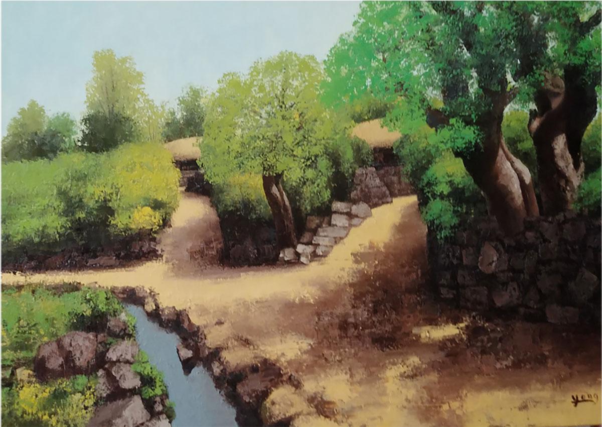 제주 유수암리︱116.8x80.3cm, Oil on canvas