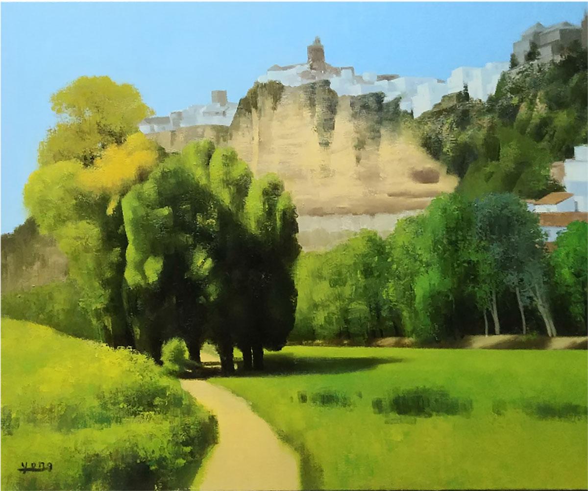 아르코스 풍경︱90.9x72.7cm, Oil on canvas