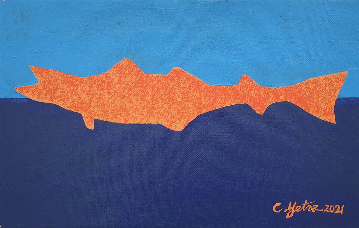 어상-C︱33.4x24.2cm, Mixed Media on canvas