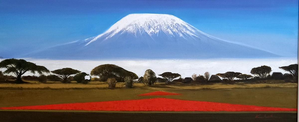 키리만자로 만년설︱162.2 x 112.1cm, Oil on canvas︱2018