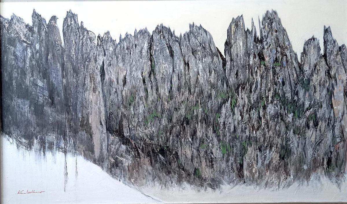 금강산︱162.2x97.0cm, Oil on canvas︱2020