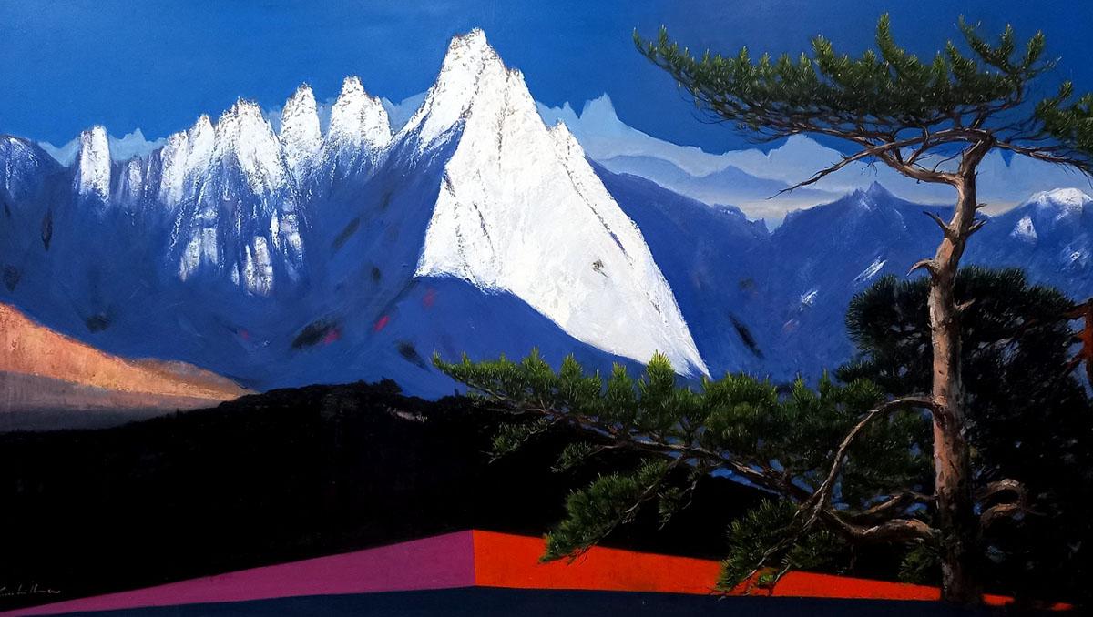 도봉산︱192.9x97.0cm, Oil on canvas︱2014