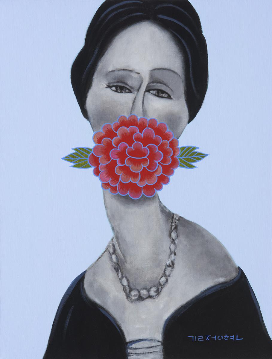 페미니즘바라보기2︱45.5x53.0cm, Acrylic On Canvas︱2014