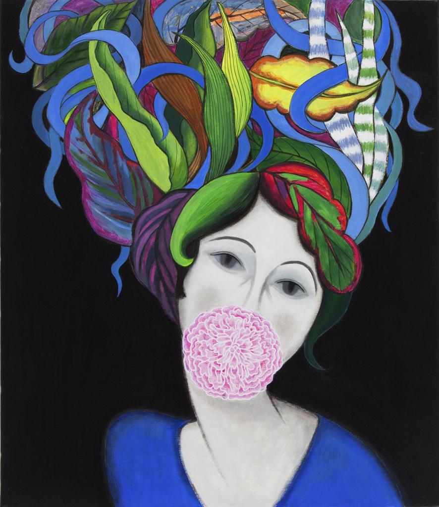 페미니즘바라보기6︱45.5x53.0cm, Acrylic On Canvas︱2014