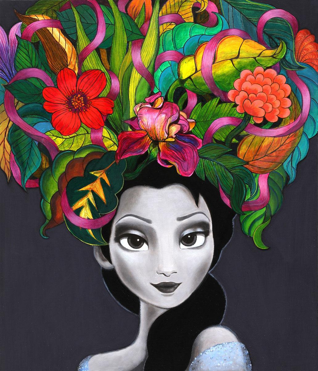 페미니즘바라보기10︱53.0x45.5cm, Acrylic On Canvas︱2019