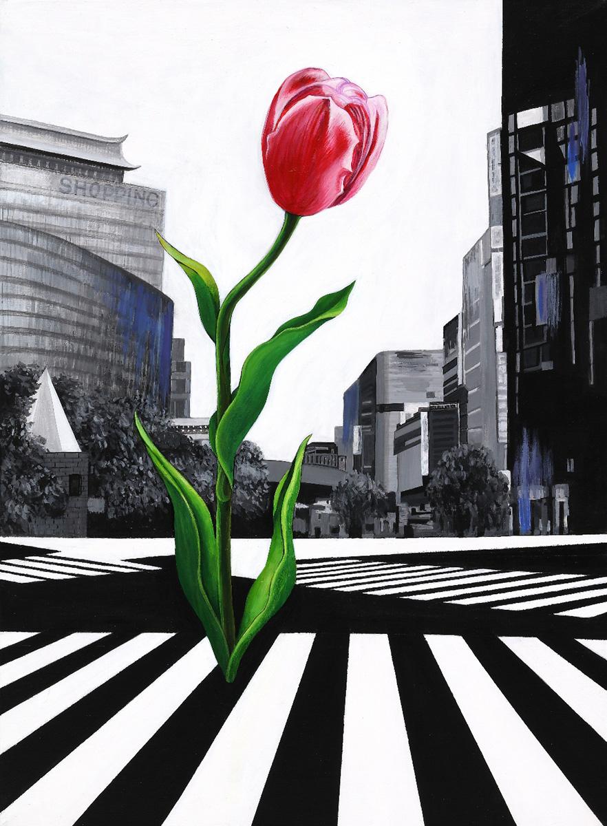 기억놀이1︱60.6x72.7cm, Acrylic On Canvas︱2017